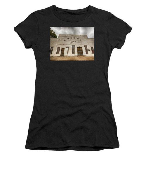 Historic Gruene Hall Women's T-Shirt (Athletic Fit)