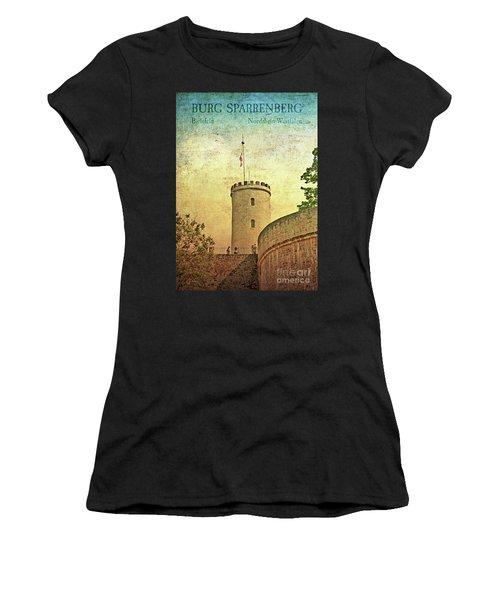 Historic Landmark Sparrenberg Castle Women's T-Shirt (Athletic Fit)