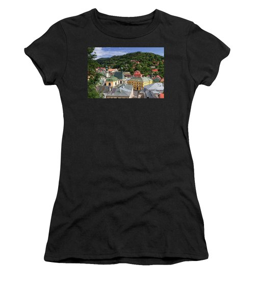 Historic Mining Town Banska Stiavnica, Slovakia Women's T-Shirt (Athletic Fit)