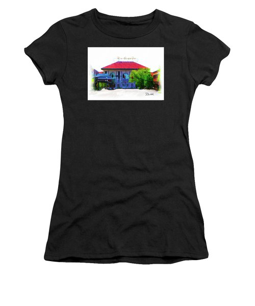 Historic Rio Grande Station Women's T-Shirt (Athletic Fit)