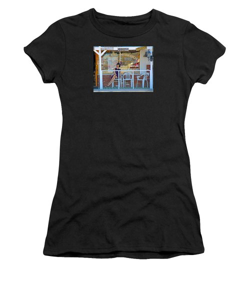 Historic Route 66 Memorabilia Women's T-Shirt (Athletic Fit)