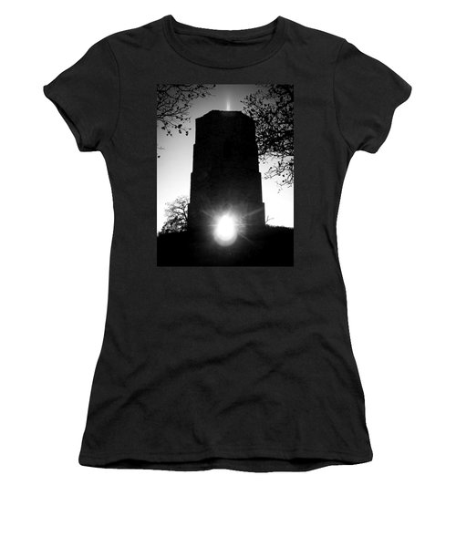 Historical Water Tower At Sunset Women's T-Shirt