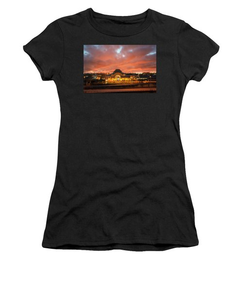 History On Fire Women's T-Shirt (Athletic Fit)