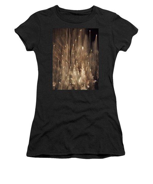 Women's T-Shirt (Junior Cut) featuring the photograph Hocus Pocus Out Of Focus by John Glass