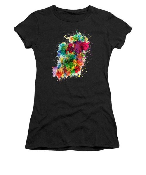 Hodge Podge T-shirt Women's T-Shirt (Athletic Fit)