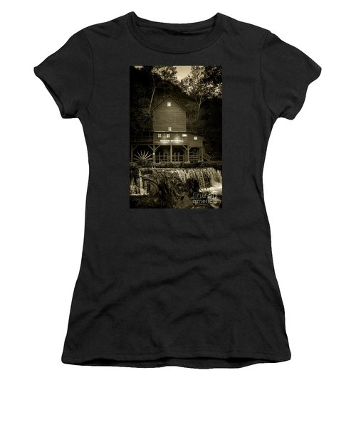 Hodgson Gristmill Women's T-Shirt (Junior Cut) by Robert Frederick