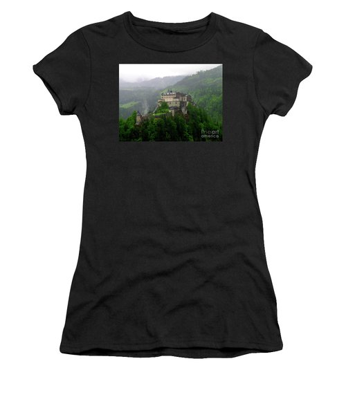 Hohenwerfen Castle Women's T-Shirt (Athletic Fit)
