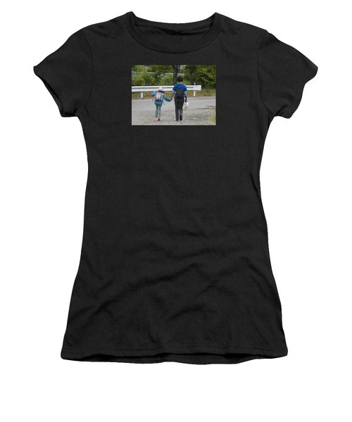 Holding Hands Women's T-Shirt (Athletic Fit)
