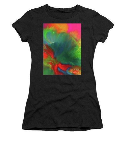 Holi Celebration Vertical Women's T-Shirt