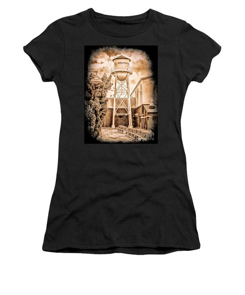 Hollywood Water Tower Women's T-Shirt