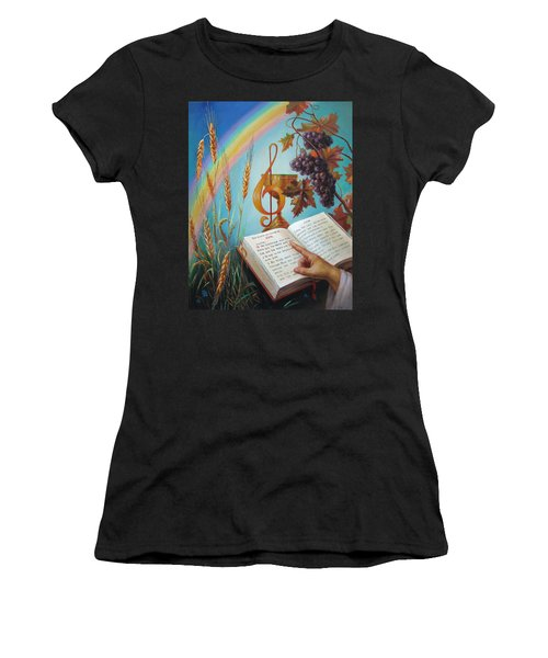 Holy Bible - The Gospel According To John Women's T-Shirt (Athletic Fit)