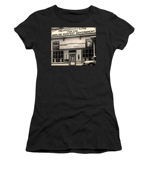 Holy City World Government Santa Clara County California 1938 Women's T-Shirt (Athletic Fit)