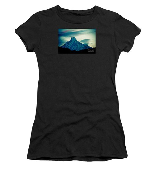 Holy Mount Fish Tail Machhapuchare 6998m Women's T-Shirt