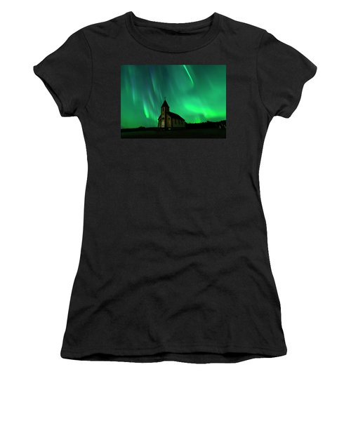 Holy Places Women's T-Shirt (Athletic Fit)