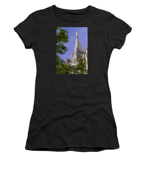 Holy Temple Women's T-Shirt (Athletic Fit)