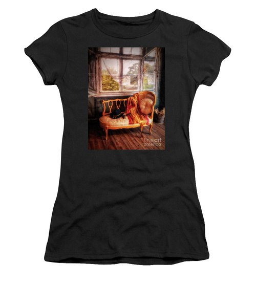 Home  At Last ... Women's T-Shirt (Athletic Fit)