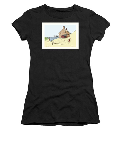 Home By The Sea Women's T-Shirt