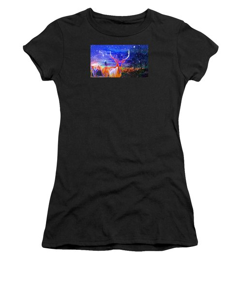 Home For The Holidays Women's T-Shirt (Junior Cut)