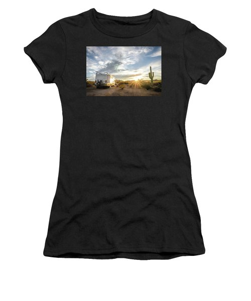 Home In The Desert Women's T-Shirt (Athletic Fit)