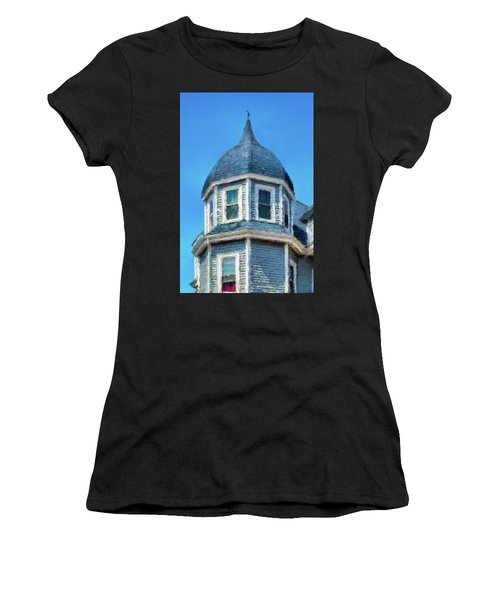 Home In Winthrop By The Sea Women's T-Shirt (Athletic Fit)