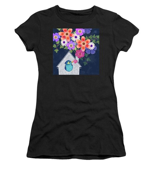 Home Is Where You Bloom Women's T-Shirt