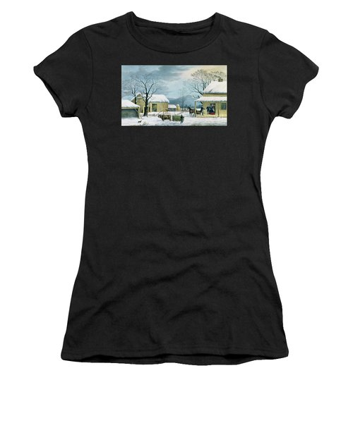 Home To Thanksgiving Women's T-Shirt
