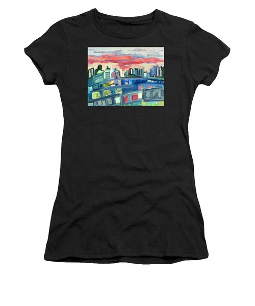 Home To The Softer Side Of City Women's T-Shirt