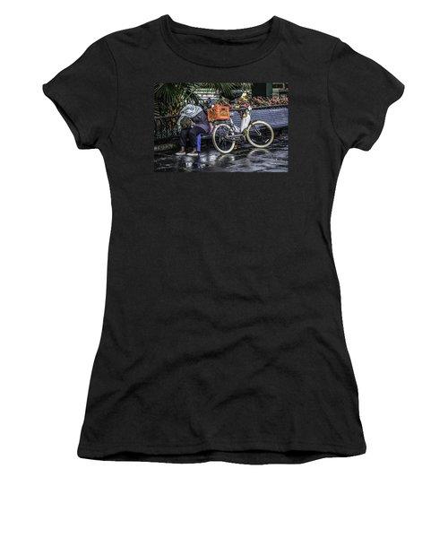 Homeless In New Orleans, Louisiana Women's T-Shirt