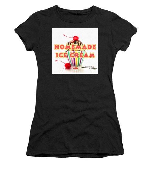 Homemade Ice Cream Women's T-Shirt
