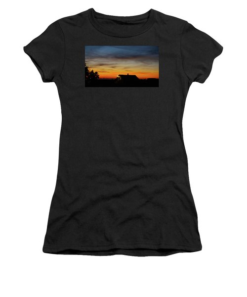 Women's T-Shirt (Junior Cut) featuring the photograph Homestead by Angi Parks