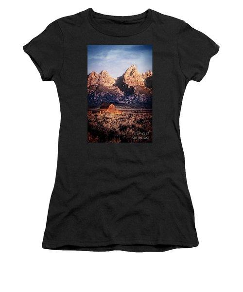 Women's T-Shirt featuring the photograph Homesteader by Scott Kemper