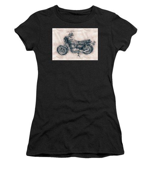 Honda Cb750 - Superbike - 1969 - Motorcycle Poster - Automotive Art Women's T-Shirt