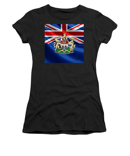 Hong Kong - 1959-1997 Coat Of Arms  Women's T-Shirt (Athletic Fit)
