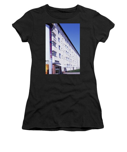 Honk Kong And Building In Berlin Women's T-Shirt