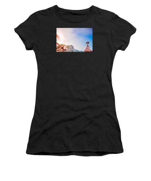 Hoo Doos At Sunset Women's T-Shirt (Athletic Fit)
