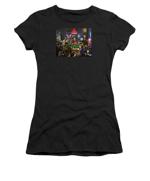 Horror Card Game Women's T-Shirt (Athletic Fit)