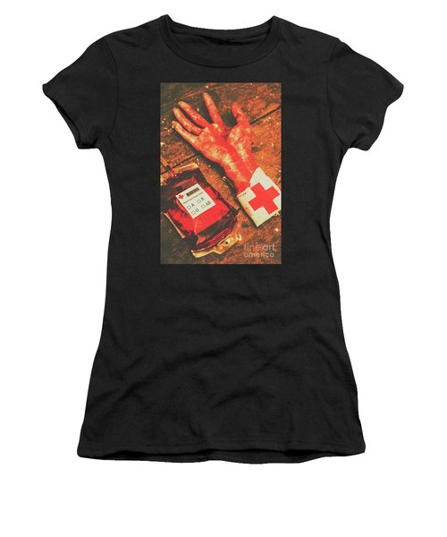 Horror Hospital Scenes Women's T-Shirt