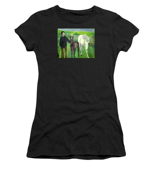 Horse And Foal Women's T-Shirt