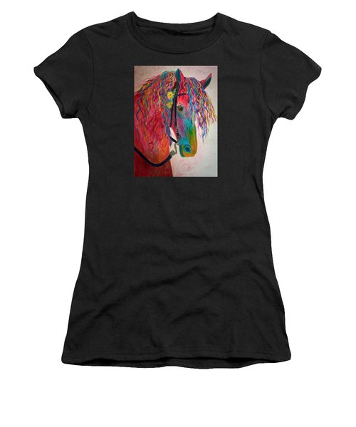 Horse Of A Different Color Women's T-Shirt