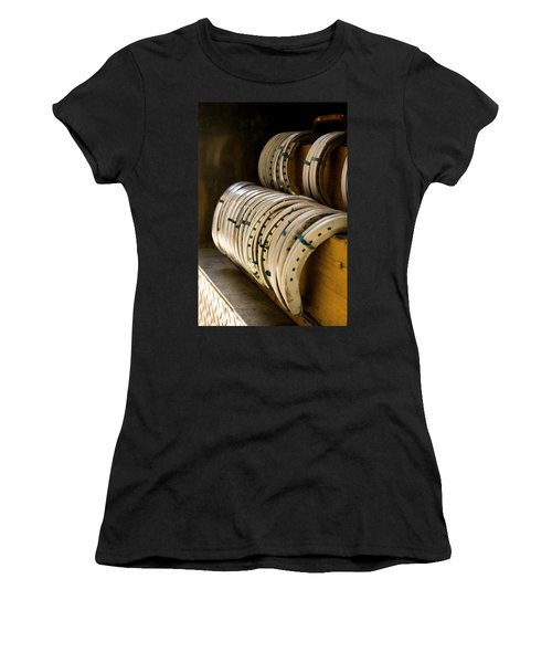 Horse Shoes Women's T-Shirt (Junior Cut) by Angela Rath