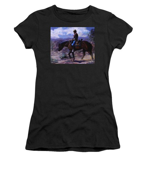 Horse Trainer Women's T-Shirt (Athletic Fit)
