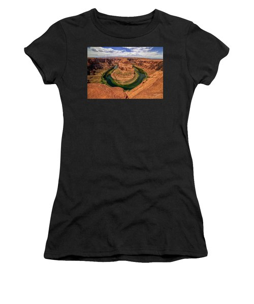 Horseshoe Bend Women's T-Shirt (Athletic Fit)