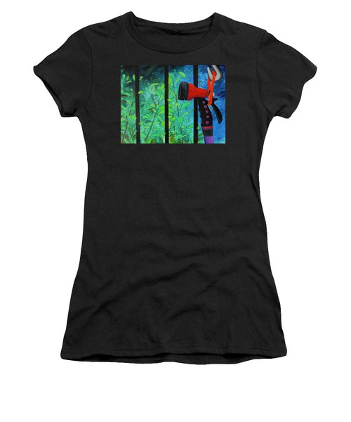 Hosed Women's T-Shirt (Athletic Fit)