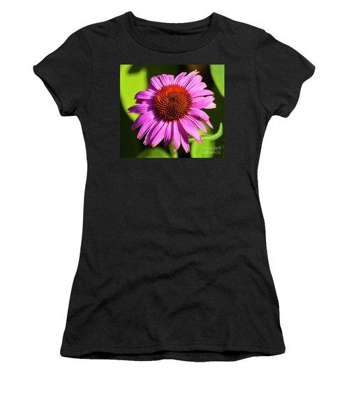 Hot Pink Flower Women's T-Shirt