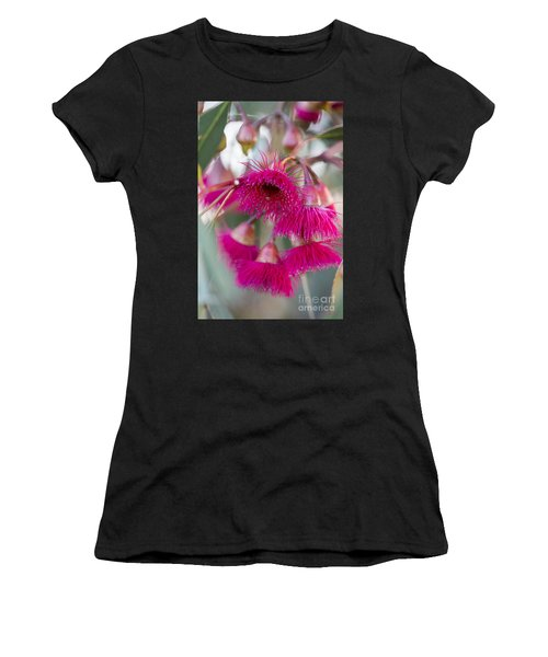 Hot Pink Women's T-Shirt (Athletic Fit)