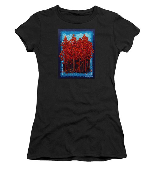 Hot Reds Women's T-Shirt (Athletic Fit)