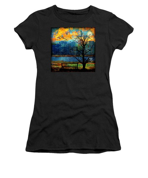Hot Summer Nights Women's T-Shirt (Athletic Fit)