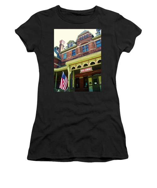 Hotel Florence Pullman National Monument Women's T-Shirt (Athletic Fit)