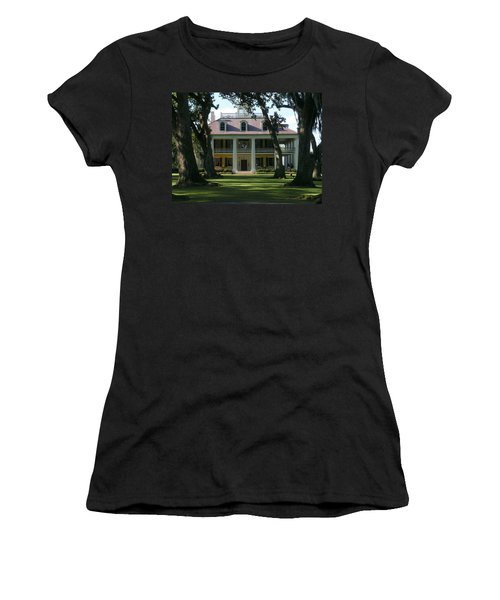 Houmas House Plantation Women's T-Shirt (Athletic Fit)