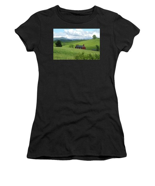 House In The Hills Women's T-Shirt